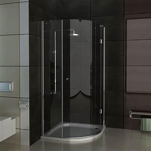 Viertelkreis Duschkabine 80x80 : echtglas viertelkreis duschkabine 80x80 90x90 100x100 ~ Watch28wear.com Haus und Dekorationen
