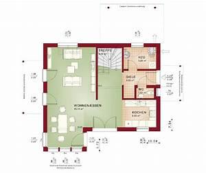 Grundriss Haus Mit Erker : grundriss einfamilienhaus erdgeschoss modern offen mit erker anbau haus evolution 122 v5 bien ~ Indierocktalk.com Haus und Dekorationen