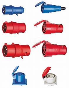 Cee Steckdose 32a : cee stecker 2 32 5 pin cee plug 400v 32a red at reichelt elektronik ~ Watch28wear.com Haus und Dekorationen