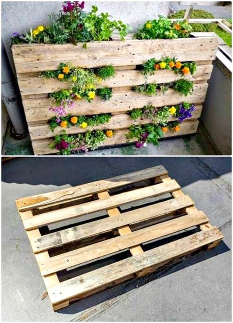 diy pallet garden  diy pallet garden projects