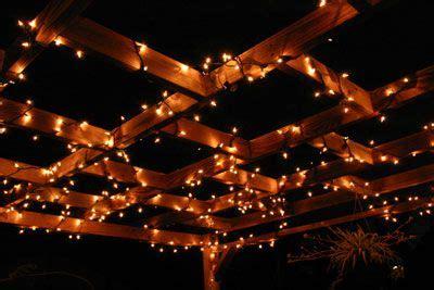 soft white christmas lights pergola decorating ideas