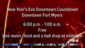 New Years Eve events planned all across Southwest Florida