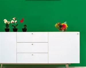 Wohnen In Grün : wandgestaltung in gr n sch ner wohnen farbe highland ~ Michelbontemps.com Haus und Dekorationen