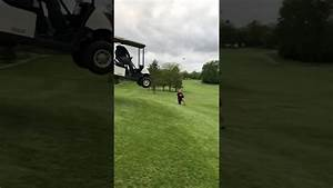 Insane Golf Cart Jump