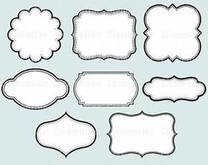 label tag clipart 78 With decorative labels for printing