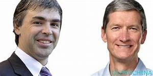 google and apple ceo holds the secret talks gizmochina With tim cook and larry page talking patent issues