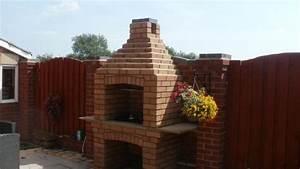 comment construire un barbecue en brique guide et photos With barbecue fait maison brique