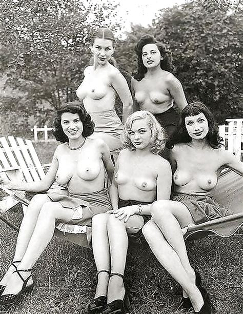 Groups Of Naked Women Vintage Edition Vol Pics