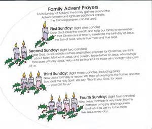 Advent Family Prayers
