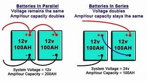 What Is The Advantage Of Wiring Car Batteries In Parallel Versus In Series