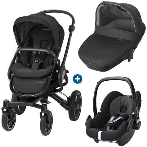 siege auto pebble bebe confort trio poussette 4 roues nacelle coque bébé