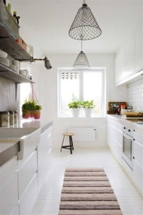 Design Ideas For Galley Kitchens - 15 lovely and inspiring scandinavian kitchen designs rilane