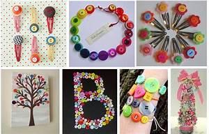 Pinterest Button Crafts plus Assorted Button Bucket