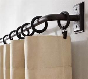 Tringle Pour Rideau : tringle rideau id es pour la maison pinterest ~ Edinachiropracticcenter.com Idées de Décoration