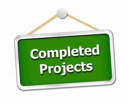 Completed Projects Future Project Going