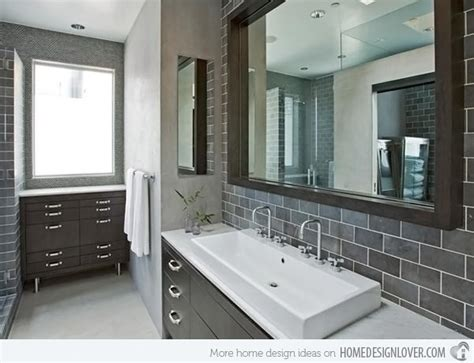gray tile bathroom ideas a look at 15 sophisticated gray bathroom designs home
