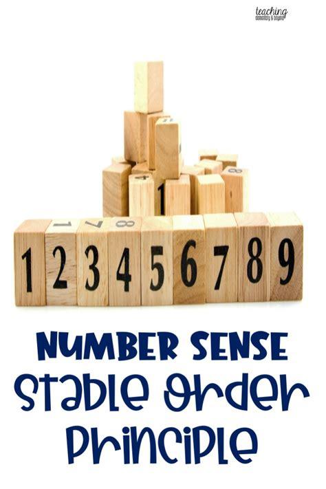 Number Sense: Stable Order Principle - teaching elementary ...