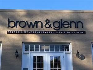 jc signs charlotte recently paired with brown and glenn With exterior signage letters