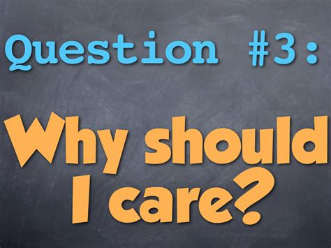 Three Questions Every Webpage Should Answer, #3 Why