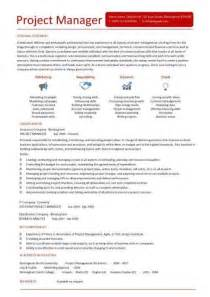 Excellent Project Manager Resume The Best Letter Sample