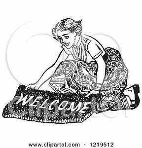 Royalty-Free (RF) Welcome Mat Clipart, Illustrations ...