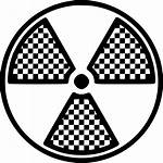Radiology Sign Icon Radiation Zone Dangerous Svg