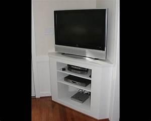 Meuble Angle Tv : meuble d angle tv moderne maison design ~ Teatrodelosmanantiales.com Idées de Décoration