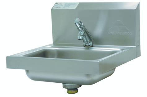 advance tabco 7 ps 72 wall mounted h a c c p compliant