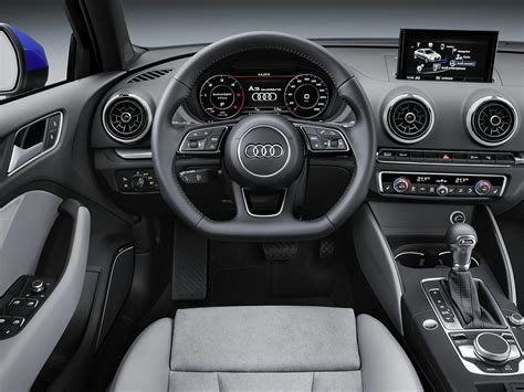 audi a3 interior 2017 audi a3 price photos reviews features