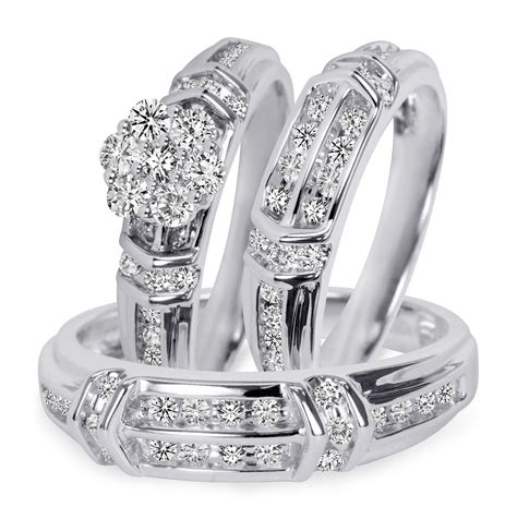 awesome cheap his and hers wedding sets matvuk