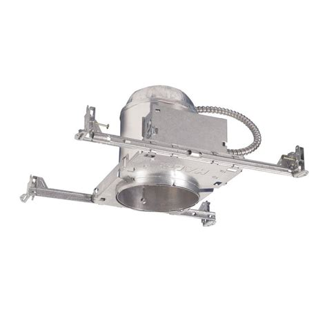 halo recessed lighting installation halo h7 6 in aluminum recessed lighting housing for new