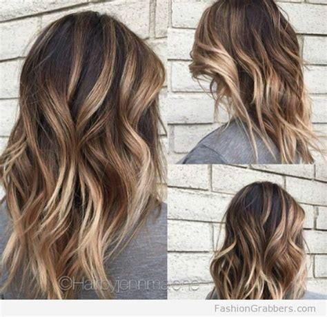 soft brunette balayage  blonde tips primp balayage