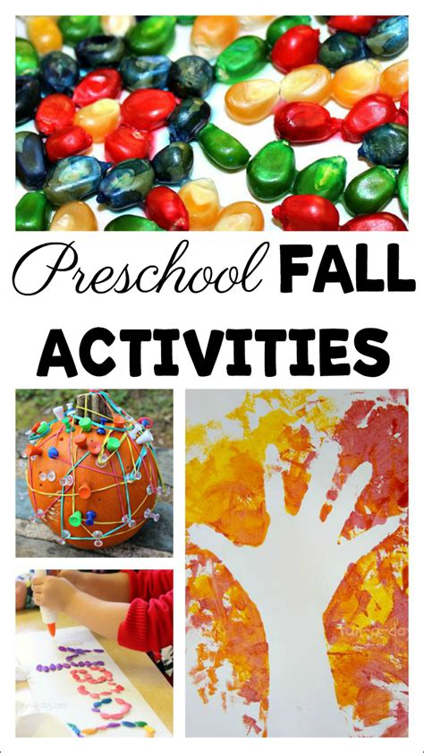 60 engaging and playful fall activities for preschoolers 842 | So many fall activities for preschoolers