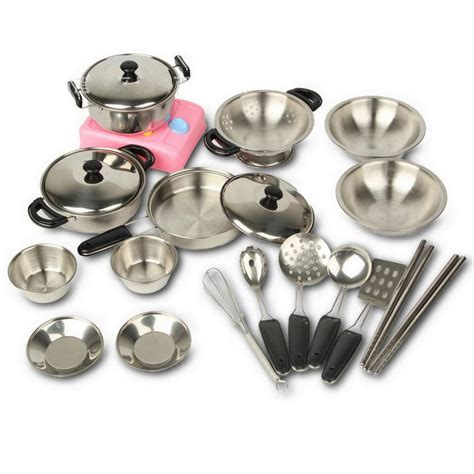 kitchen cooking accessories aliexpress buy 18 pcs stainless steel miniature 3412