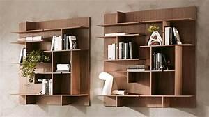 Libreria modulare appesa a muro Thin soloLibrerie