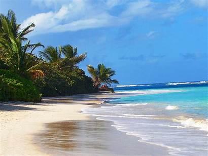 Beach Fajardo Flamanco Rico Puerto Away Ocean