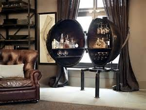 modern decoration ideas for living room mini bar of metal for the industrial look in the living