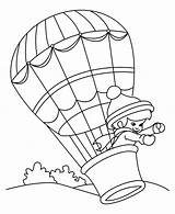 Balloon Coloring Air Balloons Printable Transportation Printables Clipart Colouring Library Paint Wind Sky Popular Supernatural Being Coloringhome Buddies sketch template