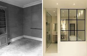 Salle De Bain Avant Après : r novation d 39 un appartement haussmannien de 230m2 ~ Mglfilm.com Idées de Décoration