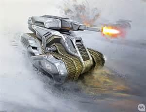 Military Tank Concept Art