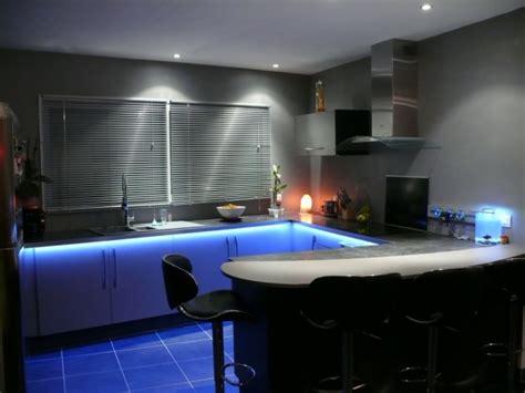 cuisine avec éclairage led 3 photos thenico35