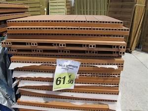 Lame De Terrasse Composite Pas Cher : dalle terrasse composite pas cher ~ Edinachiropracticcenter.com Idées de Décoration