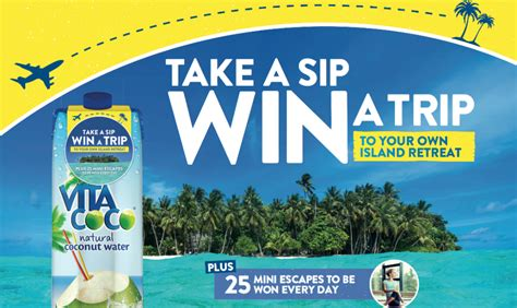 'take A Sip, Win A Trip' Prize Promotion Case Study Vita