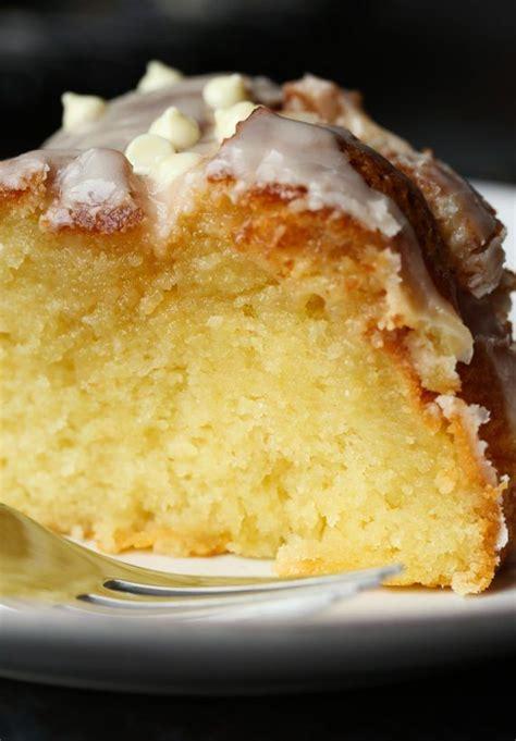 ridiculous vanilla cake recipe bundt cakes desserts