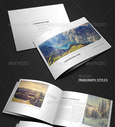 A4 Tri Fold Brochure Template 16 Awsome Brochure Sizes And 20 Awesome Indesign Psd Photography Brochure Templates
