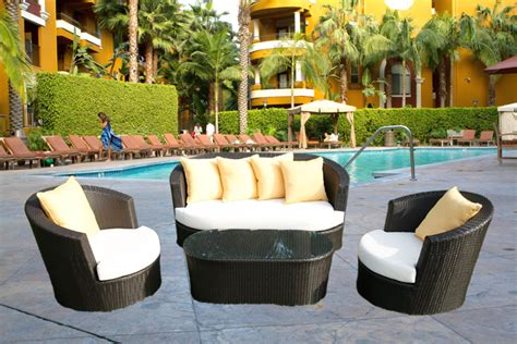 furniture design ideas all weather resin wicker patio