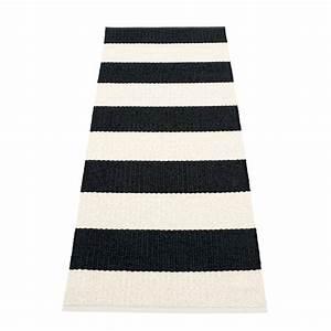 Teppich 90 X 200 : pappelina bob teppich 70 x 200 cm black vanilla mehrfarbig t 70 h 0 b 200 online kaufen ~ Markanthonyermac.com Haus und Dekorationen