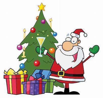Christmas Clip Clipart Tree Merry Beach Decorations