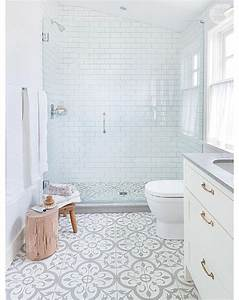 the 25 best white tile bathrooms ideas on pinterest modern With popular materials of white tile bathroom
