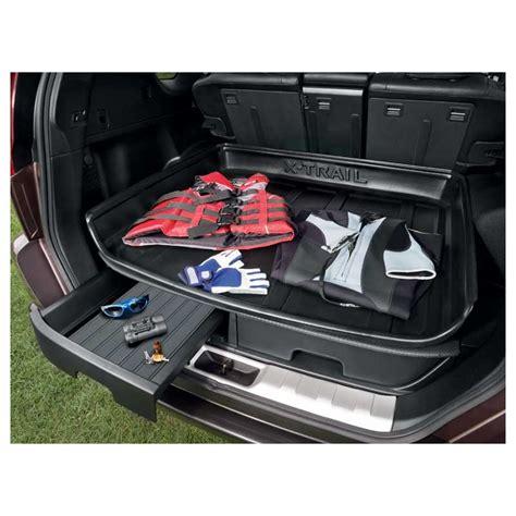 rangement pour coffre de voiture tiroirs de rangement coffre nissan x trail accessoires nissan